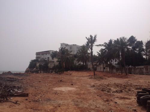 Osu Castle, Sitz der ghanaischen Regierung, heute. CC-BY Lill-Ann Körber