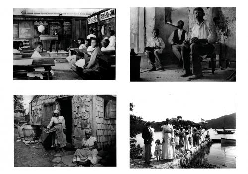 """Historische Fotografien aus Dänisch-Westindien, um 1910, Flickr, Sammlung """"Danish West Indies"""", National Museum of Denmark. Keine bekannten Urheberrechtseinschränkungen"""
