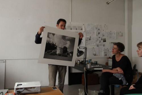 Im Atelier von Søren Lose auf Amager. CC-BY Wencke Gubisch